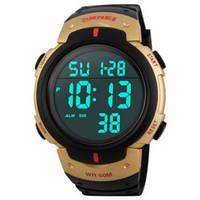 Часы Skmei 1068 BK-Gold Case