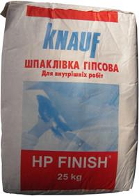 Шпаклевка Knauf HP Finish, 25 кг