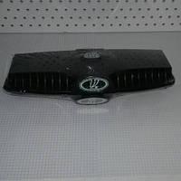 Дефлектор капота воздухозаборник пара 2 шт ВАЗ 2101 2102 2103 2104 2105 2106 2107 значок зеленый Bagis