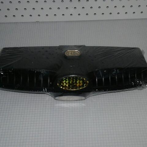 Дефлектор капота воздухозаборник пара 2 шт ВАЗ 2101 2102 2103 2104 2105 2106 2107 значок золотой Bagis