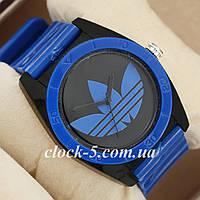 Наручные часы адидас синие