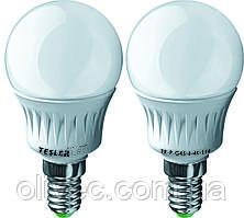 """Светодиодная энергосберегающая лампа """"Tesler"""" E14, 6 W"""