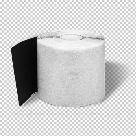 Бутилкаучукова нетканная стрічка 75мм*12м, фото 2