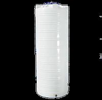 Ёмкость вертикальная узкая 1000 литров однослойная 80 х 223 см  Ротоевропласт