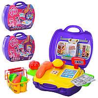 "Набор игровой ""Доктор"" в чемодане ""Литл Пони"" DN836G-D-E-PO, 3 вида (доктор, магазин, косметика)"