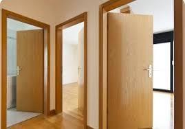 Установка межкомнатных дверей.