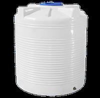 Ёмкость вертикальная 1500 литров однослойная 142 х 121 см Ротоевропласт
