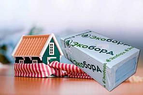 Экструдированный пенополистирол стиродур утеплитель 600х1200х40мм Экоборд (10 шт. в упаковке)