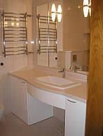 Столешница для ванной комнаты из искусственного камня Montelli.