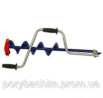 "Ледобур iDabur ™ (Айдабур)  D130  мм  с ножами ""стандарт-К"""