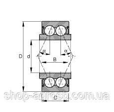 Підшипник AMAKO 5206KYY3, 5206KPP3, 822-215C, GA8603, GA8641, фото 2