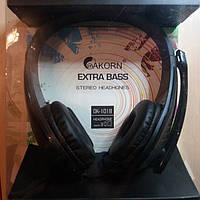 Наушники EXTRA BASS OK-1018 стерео с микрофоном.