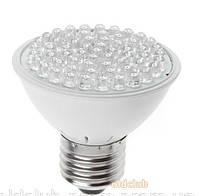 Лампочка светодиодная белый свет e27 60 LED крупный опт