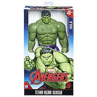 Халк супер герой, Мстители Титановые герои, 29 см., Marvel Avengers Titan Hero Series Hulk