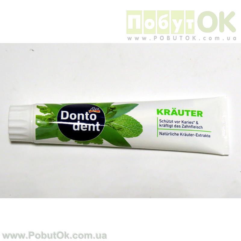 Зубная Паста 125 Мл Dento Dent Krauter (Код:1250) Состояние: НОВОЕ