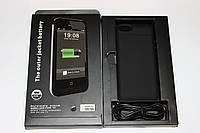 Чехол-аккумулятор Power Bank для iphone 5S Black