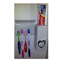 Вакуумный Автоматический Дозатор зубной Пасты + Держатель