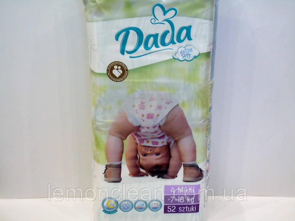 Подгузники Dada extra soft 4 Maxi 7-18кг 52шт