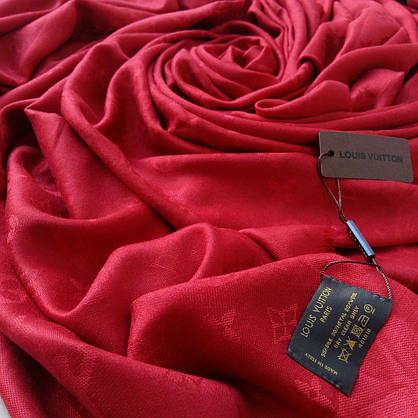 Платок Louis Vuitton бордо, фото 3