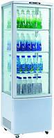 Шкаф-витрина холодильная EWT INOX RT215L