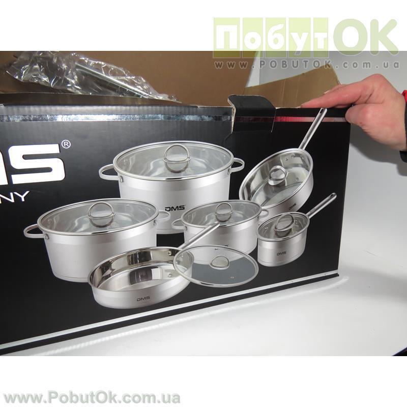 Набор Посуды 12-Едениц DMS TSE3012 (Код:1255) Состояние: НОВОЕ - PobutOK в Ровно