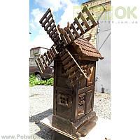 Кофемолка Профессиональная Стилизованная Под Мельницу (Код:1260) Состояние: Б/У
