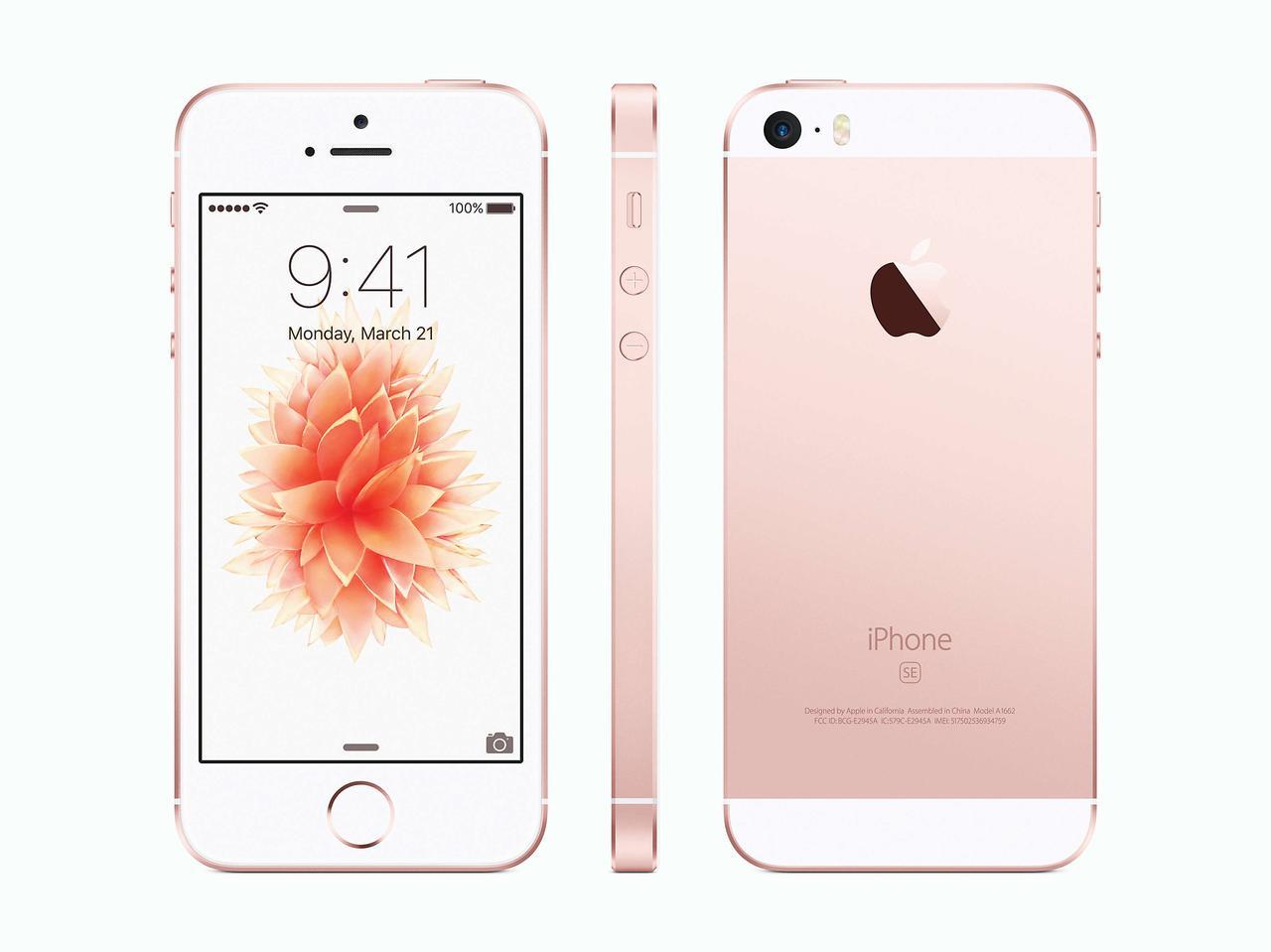 Apple iPhone SE 16GB (Rose Gold) Refurbished