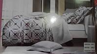 Сатиновая постель 5D в ассортименте 1,5