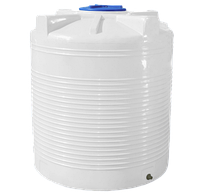 Ёмкость вертикальная 2000 литров однослойная 135 х 155 см Ротоевропласт