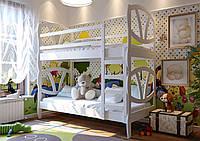 Кровать трансформер детская двухъярусная деревянная Виктория, фото 1