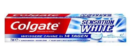 Зубна паста для відбілювання Colgate Sensation white 75 мл