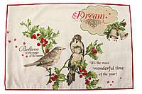 Салфетка новогодняя, Holiday, 33х48 см, Новогодний текстиль , Днепр