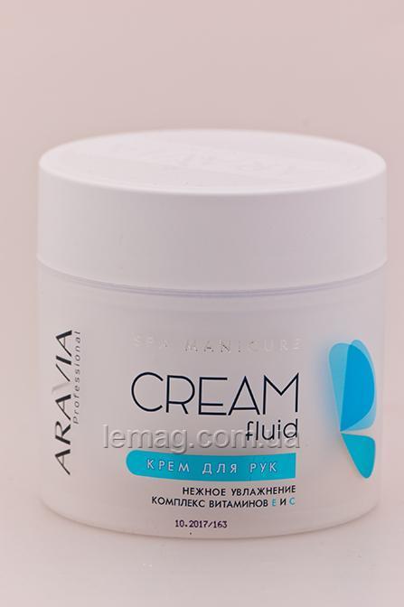 ARAVIA Professional Крем-флюид «Нежное увлажнение» с витаминами Е и С, 300 мл