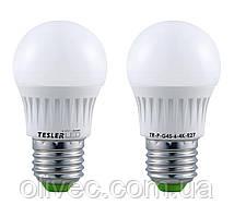 """Светодиодная энергосберегающая лампа """"Tesler"""" E27, 6W"""