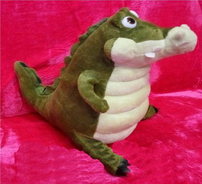 Мягкая игрушка Крокодил 35 см детская плюшевая игрушка сидячий крокодил