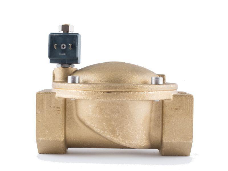 """Клапан 2"""", нормально-відкритий, 8719 NBR 230V 50 Hz, соленоїдний електромагнітний, CEME, Італія"""