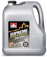 PC SUPREME SYNTHETIC 5W-20 (4л). Синтетическое моторное масло. Бензин - Газ.