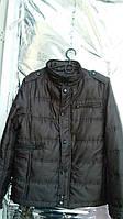 Демисезонная куртка мужская коричневая