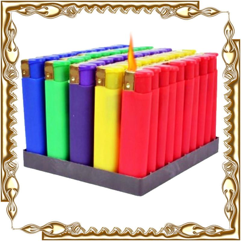 Запальничка п'єзо Оксамит кольоровий 50 шт/уп.