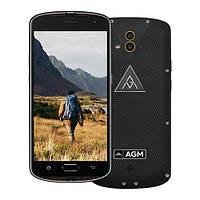 """Смартфон AGM X1 4/64Gb Black IP68, 13+13/5Мп, 8 ядер, 2sim, 5.5"""" AMOLED, 5400mAh, 4G"""