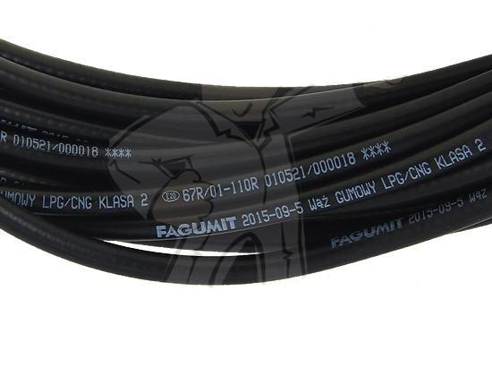 Рукав газовый ГБО шланг 5 мм LPG Fagumit