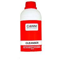 Средство для удаления липкого слоя, дезинфекции и обезжиривания ногтей, Cleanser 3 in 1,500 мл