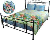 Комплект постельного белья Summer flowers, сатин, семейный.