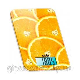Кухонные бытовые весы MAGIO MG-296 (orange) до 5 кг, точность 1 г