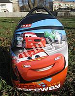"Детский чемодан 16"" Тачки"