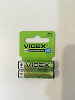 Батарейка щелочная Videx Alkaline AAA LR3 2шт.