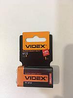 Батарейка крона  Videx 6F22