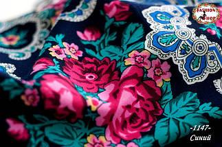 Павлопосадский платок Утренний сад, фото 3