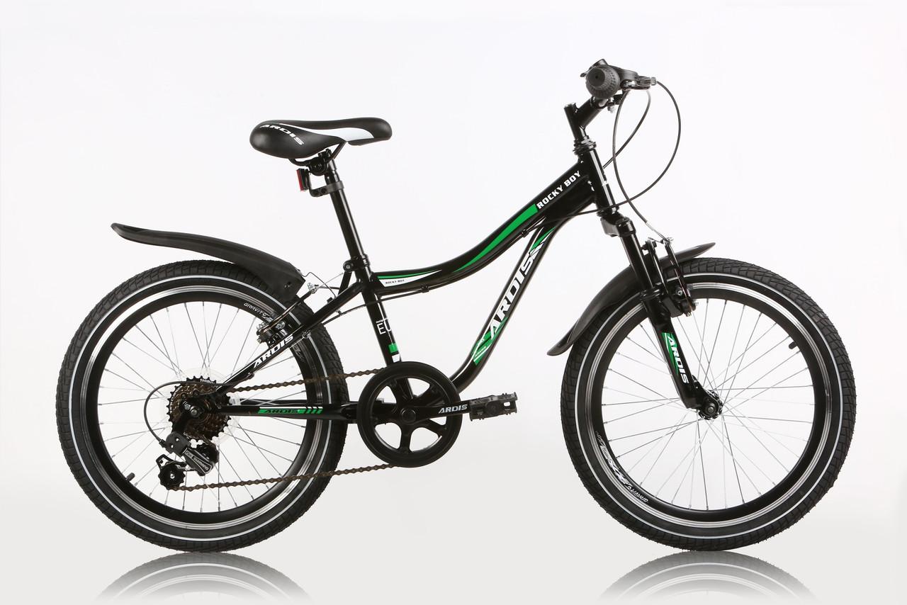 """Детский велосипед ARDIS ROCKY  BOY  MTB 20"""" Черный"""