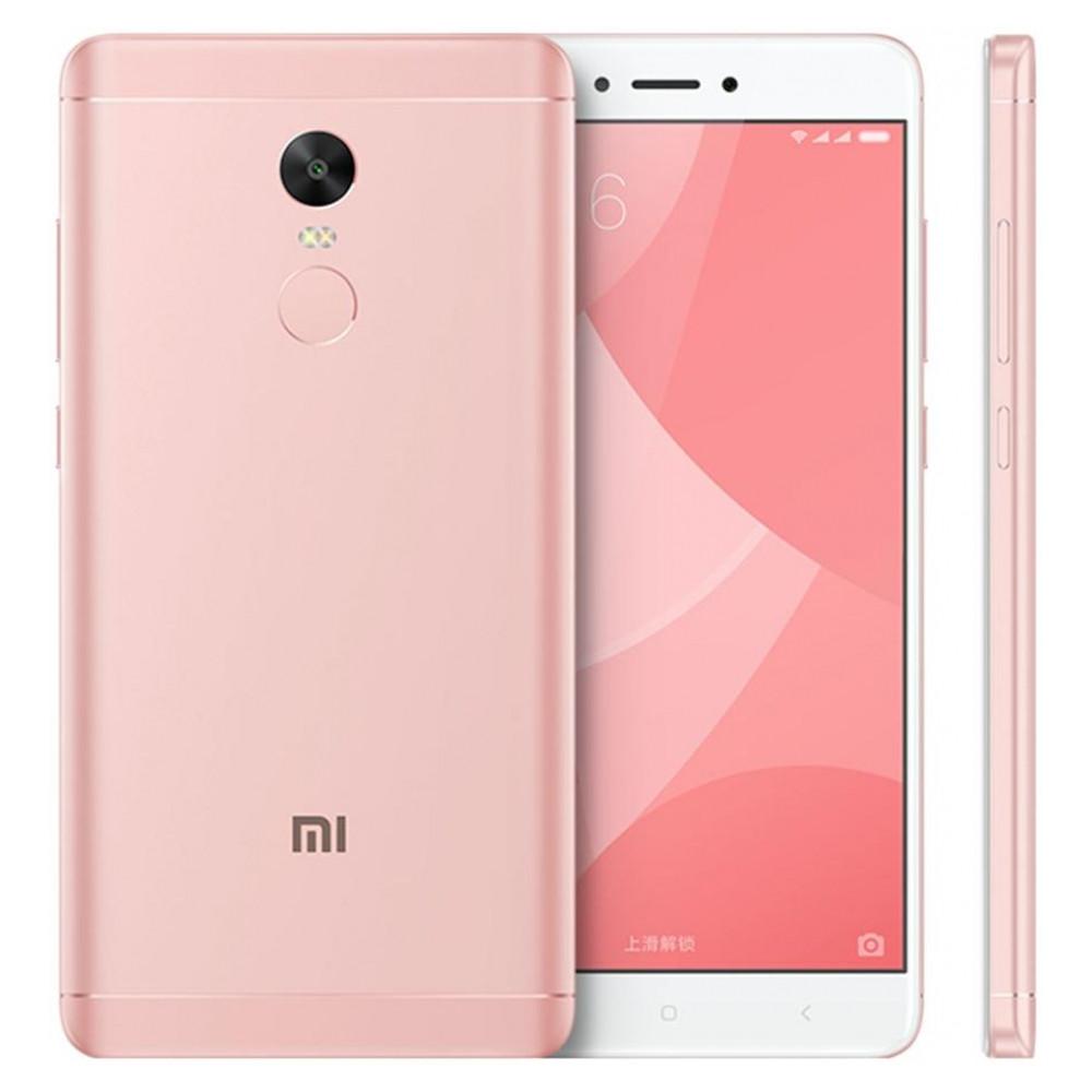 """Смартфон Xiaomi Redmi Note 4X 4/64Gb, Pink, Helio X20, 10 ядер, 13/5Мп, 5.5"""", 2Sim, 4100мА, 4G"""
